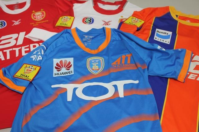 สะสม เสื้อบอล ลีกไทย Thai Footbal Jerseys 2011