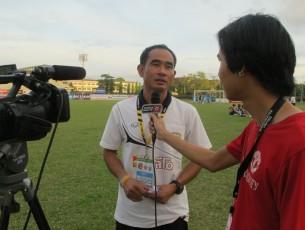 """INTERVIEW : สัมภาษณ์พิเศษ  """"โค้ชณรงค์ ท่วมไธสงค์"""" เฮดโค้ชขอนแก่น เอฟซี  """"เป้าหมายเรายังเหมือนเดิม กลับขึ้นสู่ไทยลีก ภายใน 1 ปี"""""""