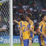 PHOTO : VEGALTA SENDAI Supporters in Away game, AFC Champion League @BURIRAM THAILAND