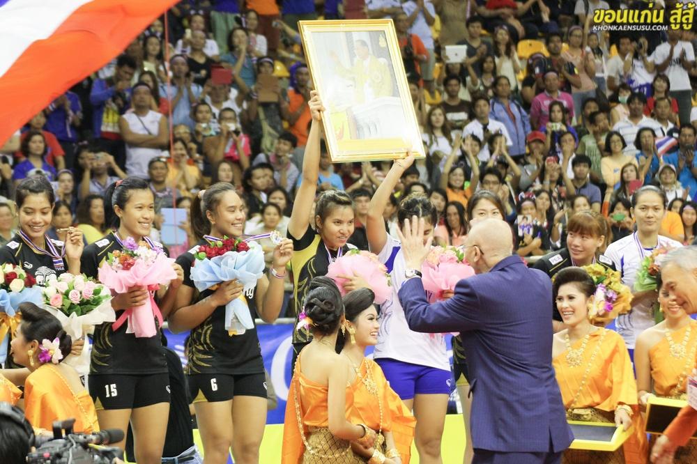 จุใจ ภาพการแข่งขันวอลเล่ย์บอลหญิง ชิงแชมป์เอเซีย ครั้งที่ 17 AVC #17 PHOTO SET