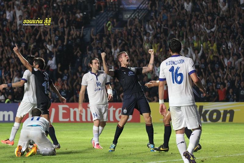 """AFC CHAMPIONS LEAGUE 2013 : บุรีรัมย์ ยูไนเต็ด 1-2 อิสติกลอล เอฟซี """"สิ้นสุดเส้นทางที่รอบ 8 ทีมสุดท้าย ปีหน้าดีกว่าเดิม"""""""