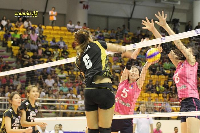 AVC วอลเล่ย์บอลหญิงชิงแชมป์เอเซีย 2013 รอบแรกไทยแลนด์ 3 ชนะมองโกเลีย 3 ต่อ 0 เซ็ท