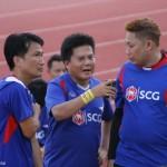 ฟุตบอลกระชับมิตร ระหว่างทีมผู้บริหารบริษัทฟินิคซ พัลพ แอนด์ เพเพอร์ จำกัด (มหาชน) ในเครือเอสซีจี กับทีมสื่อมวชนผู้สื่อข่าวในจังหวัดขอนแก่น