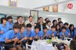 จังหวัดขอนแก่น อบจ.ขอนแก่น และสมาคมกีฬาจังหวัดขอนแก่น เลี้ยงต้อนรับนักฟุตบอลหญิงทีมชาติไทย ชุดเอเชี่ยนเกมส์และชุดฟุตบอลโลก