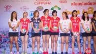 """""""เร้ด ไดโน"""" ไอเดียขอนแก่น เปิดตัวสโมสร นักกีฬา และผู้สนับสนุนสู้ศึกวอลเล่ย์บอลไทยแลนด์ ลีก 2015 โดยในปีนี้ ดึงตัวนักวอลเล่ย์ทีมชาติอย่าง วรรณา บัวแก้ว เข้ามาสู่ทีม พร้อมสร้างกระแสกับ """"น้องแก้ม กวินตา"""" อดีตมิสไทยแลนด์ยูนิเวอรส เป็นสีสันการแข่งขัน เมื่อเสาร์ที่ 18 ตุลาคม 2557 ที่ผานมา ณ โรงแรมโฆษะขอนแก่น 194total views, 8views today"""