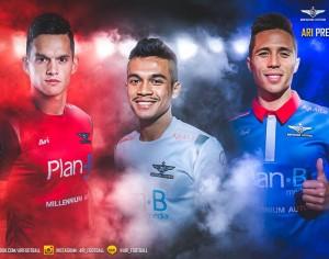 รีวิว สะสมเสื้อฟุตบอลไทย ฤดูกาล 2558 Thailand Football Jersey Season 2015
