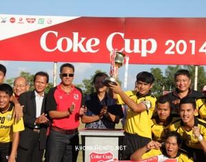 """ขอนแก่น เอฟซี คว้าแชมป์ศึกฟุตบอลเยาวชนชิงแชมป์ประเทศไทย ยู-19 รายการ """"โค้ก คัพ"""" ครั้งที่ 18 รอบคัดเลือกโซนภาคตะวันออกเฉียงเหนือตอนบน"""