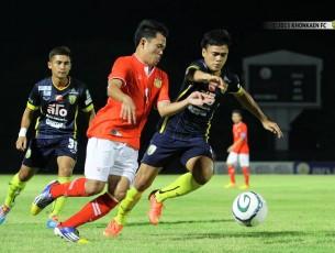 "Match Review ""LAOS–THAI FRIENDLY & CHARITY MATCH"" ""เนย์เปิดตัวหรู ยิงเบิ้ลพาเดอะทีเร็กซ์คว้าชัยเหนือทีมชาติลาว"" ขอนแก่น เอฟซี 3-1 ทีมชาติลาว"
