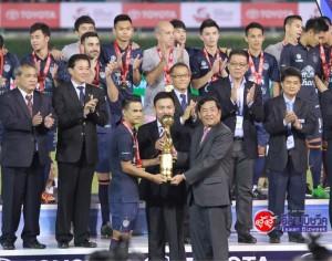 """""""ตูเนสซัดโทษนำบุรีรัมย์คว้าแชมป์แม่โขงคลับ 2015"""" #Buriramunited 1-0 #Boeungketangkor"""