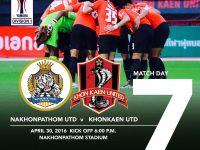 Match Preview : Yamaha League Division 1 นัด 7 นครปฐม ยูไนเต็ด v ขอนแก่น ยูไนเต็ด