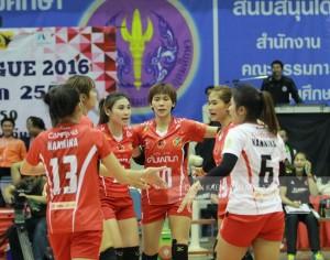 """""""เรดไดโน"""" ไอเดียขอนแก่น คว้าที่ 4 วอลเล่ย์บอลไทยแลนด์ลีก 2016"""