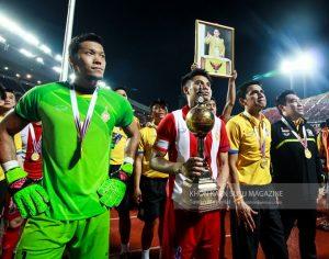 'เกริกฤทธิ์ ฮีโร่เหมาสองนำทีมชาติไทยชนะจอร์แดน 2-0 คว้าแชมป์ฟุตบอล คิงส์คัพ ครั้งที่ 44 ประจำปี 2559
