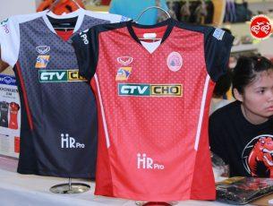 Review เสื้อแข่งขันสโมสรวอลเลย์บอลขอนแก่นสตาร์ ประจำปี 2017 KHONKAEN STAR VOLLEYBALL CLUB JERSEY 2017