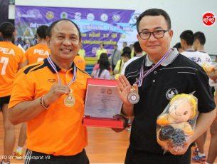 หนองเรือคว้าแชมป์อีสานอย่างสมศักดิ์ศรี ชุมแพอกหัก ศึกลูกยางเยาวชนการไฟฟ้า PEA อายุไม่เกิน 18 ปี ชิงชนะเลิศแห่งประเทศไทย ครั้งที่ 12