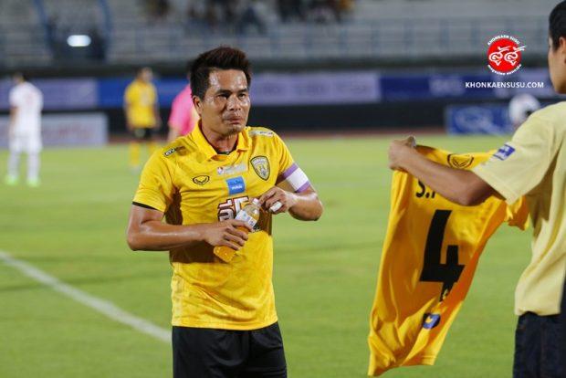 ประมวลภาพการอำลาสนามของ #กัปตันวัช ศุภกร ฆารดา ตำนานสุภาพบุรุษของขอนแก่น เอฟซี The Legend Khon Kaen FC