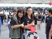 #InPhoto เก็บภาพแฟนบอลทีมชาติไทย และซาอุ ก่อนเกมส์ฟุตบอลโลก