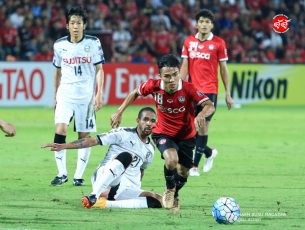 ประมวลภาพ Muangthong United 1-3 Kawasaki Frontale AFC Champions League 2017 Round of 16 – 1st Leg