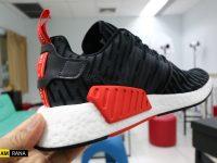 สนองตัณหาตัวเอง ชมภาพชัดๆ Adidas NMD R2 PK Footlocker Exclusive Black Red