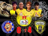 "Match Review AISRL2015 นัด 30 ""ทีเร็กซ์บุกขย้ำสกลเละ"" สกลนคร เมืองไทย เอฟซี 0-4 ขอนแก่น เอฟซี"