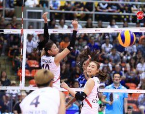 ประมวลภาพ Korea-Thailand Pro Volleyball All Star Super Match 2017 All Star Korea 3-2 Thailand