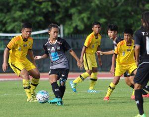 ประมวลภาพการแข่งขัน #ทีมชาติหญิงไทย รุ่นอายุ 19 ปี 5:0 #ขอนแก่นเอฟซี (ซิโก้น้อย U-13)