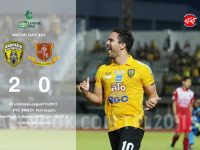 #EuroCakeLeaguePro2017 #ตอนบน #T3 นัดที่ 24 We are the Champion KHON KAEN FC 2-0 KAMPHAENG PHET FC
