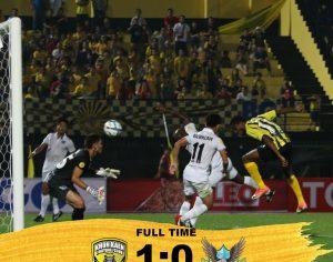 #T2 #2018 #MatchWeek 2 บาโบ้ ฮีโร่ โหม่งโทน พาทีเร็กซ์คว้าชัยนัดแรก Khon Kaen FC 1-0 Krabi FC