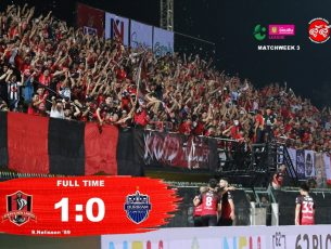 #T4 นัดที่ 3 #ขอนแก่นยูไนเต็ด 1:0 #บุรีรัมย์ยูไนเต็ดบี  ฟุตบอล ออมสิน ลีก 2018 โซนภาคตะวันออกเฉียงเหนือ