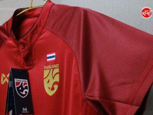 รีวิว เสื้อฟุตบอลทีมชาติไทย Thailand Nation Team Replica Jersey 2018 CHANGSUEK THE GENESIS by Warrix