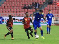 อดิศักดิ์สุดฮอดซัดดับเบิ้ลแฮตทริก ไทยถล่มติมอร์ 7-0 ประเดิมนัดแรก AFFSuzukiCup2018