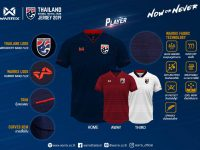 """Warrix เปิดตัวชุดแข่งฟุตบอลทีมชาติไทย ประจำปี 2562 ภายใต้คอนเซ็ปต์ """"Now or Never"""" Thailand Jersey 2019"""