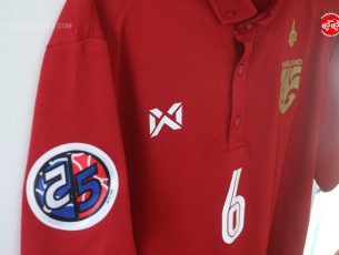Review : รีวิวเสื้อ ฟุตซอล ทีมชาติไทย ชุดเฉพาะกิจ Thailand Futsal Jersey 2018