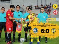 Match Review 2019 : Thai League 2 นัด 2 เจแอลเชียงใหม่ยูไนเต็ด 6-0 ขอนแก่นเอฟซี