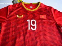 รีวิวเสื้อทีมชาติเวียดนาม  Review Vietnam Home Jersey AFC ASIAN CUP 2019 by Sakkarin Wongyai