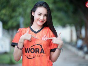 น้องฟ้าใส Fasai Sriwiwat : Khon Kaen Mordindang Home Jersey 2019