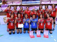 """โรงเรียนชุมแพศึกษา ควงโรงเรียนหนองเรือวิทยา คว้าแชมป์วอลเลย์บอลยุวชน """"เอสโคล่า"""" รุ่นอายุไม่เกิน 16 ปี ชิงชนะเลิศแห่งประเทศไทย ครั้งที่ 7"""