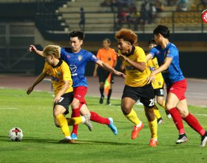 ขอนแก่นเอฟซี พ่ายจุดโทษ นครราชสีมา มาสด้า เอฟซี ศึกฟุตบอล LEO PRE-SEASON CUP 2020 รอบเพลย์ออฟ