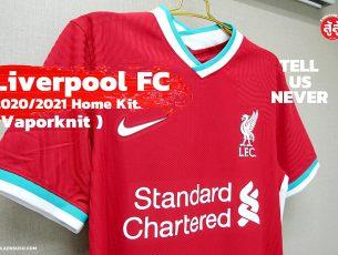 LIVERPOOL FC NIKE HOME KIT VAPORKNIT 2020-21 เสื้อเหย้า ลิเวอร์พลู เกรดเพลเยอร์